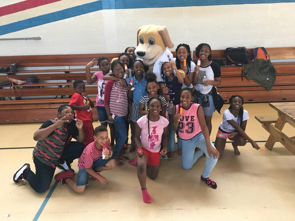 MainStreet Mascot September Popcicles Icees Boys and Girls Club